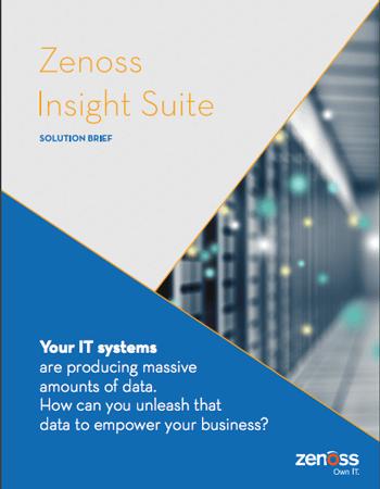 Zenoss Insight Suite Solution Brief