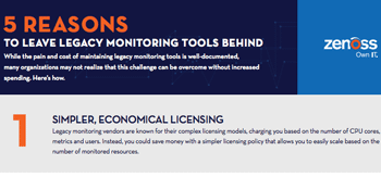 5 Reasons to Leave Legacy Monitoring Behind