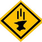 falling anvil