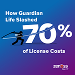 How Guardian Life Slashed 70% of License Costs