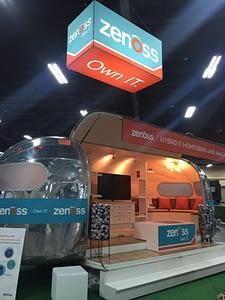Zenoss Airstream Cisco Live Booth